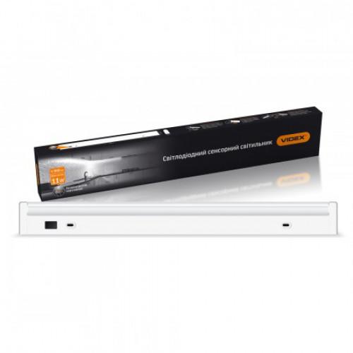 LED светильник линейный поворотный с сенсором VIDEX 11W 0,6М 5000K 220V (VL-CBT8R-11064-S)