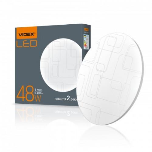 LED светильник настенно-потолочный VIDEX 48W 4100K 220V Прямоугольники
