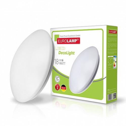 EUROLAMP LED Светильник круглый накладной NEW 18W 4000K