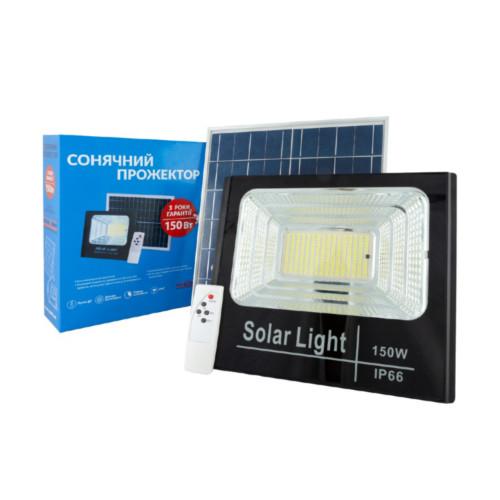 Прожектор на солнечной батарее с пультом Alltop 150W 0837C150-01 (S0837ALT150WPR)