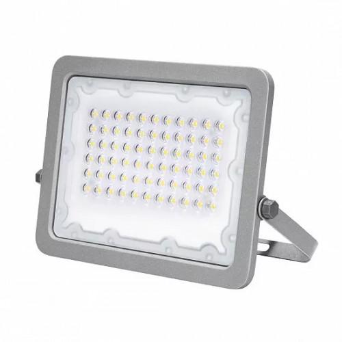 Светодиодный EUROLAMP LED SMD Прожектор cерый с радиатором 50W 5000K