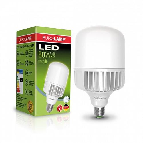 Высокомощная лампа EUROELECTRIC 50W E40 6500K Pro