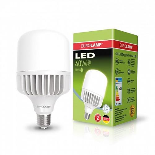 Высокомощная лампа EUROELECTRIC 40W E27 6500K Pro