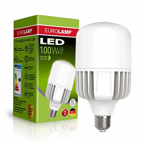 Высокомощная лампа EUROELECTRIC 100W E40 5000K Pro