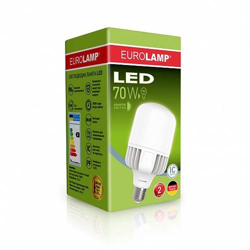Высокомощная лампа EUROELECTRIC 70W E40 6500K Pro