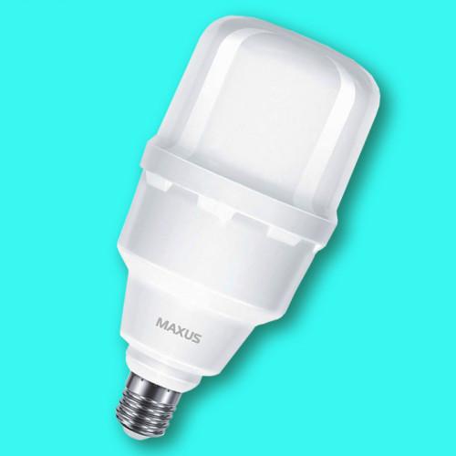 Высокомощная лампа MAXUS HW 50W 5000K E27/E40
