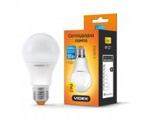 LED лампа VIDEX A60e 10W E27 3000K