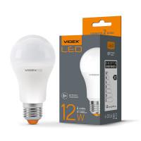 LED лампа VIDEX A60e 12W E27 4100K с датчиком движения