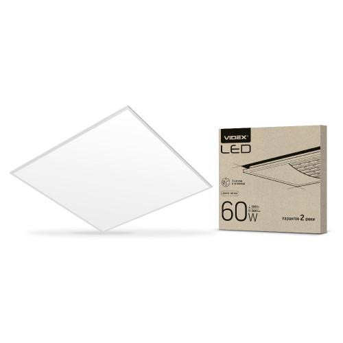 LED панель VIDEX 60W 6000K матовая (VL-Pb606W)