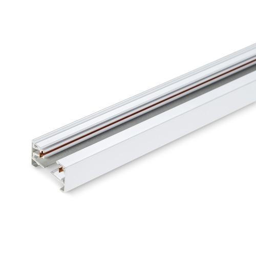 Шинопровод для крепления и питания трековых светильников VIDEX 3м белый