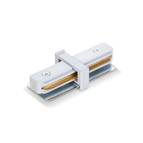 Соединитель для шинопроводов прямой VIDEX белый