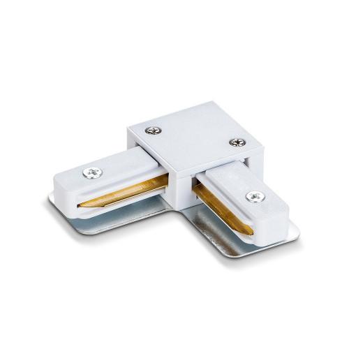 Соединитель для шинопроводов угловой VIDEX белый