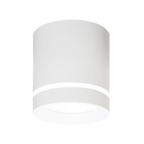 Светильник круглый тубус Maxus Surface 12W 4100K (1-MSD-1241-WH)