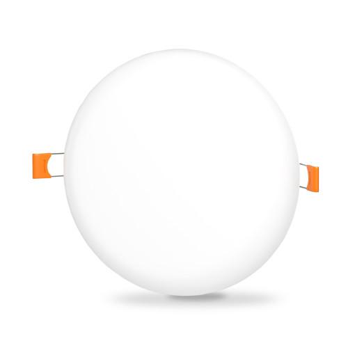 LED светильник безрамочный круглый VIDEX 24W 4100K (VL-DLFR-244)
