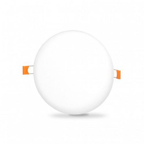 LED светильник безрамочный круглый VIDEX 15W 4100K (VL-DLFR-154)