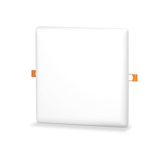 LED светильник безрамочный квадратный VIDEX 24W 4100K (VL-DLFS-244)