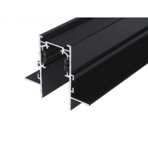 Врезной магнитный шинопровод LTR-EMT510/B - 76х65 2м