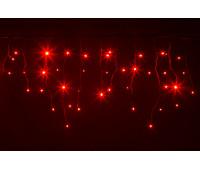 Гирлянда BRIGHTLED ICICLE 3x0,5м (Бахрома) Красный