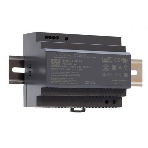 Источник питания HDR-150-24 MEAN WELL (DIN-rail)
