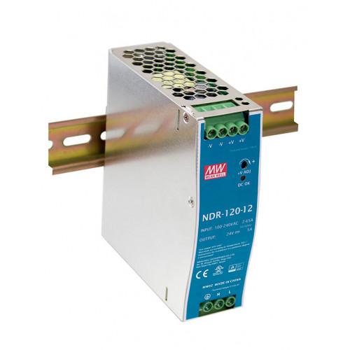 Источник питания NDR-120-12 MEAN WELL (DIN-rail)