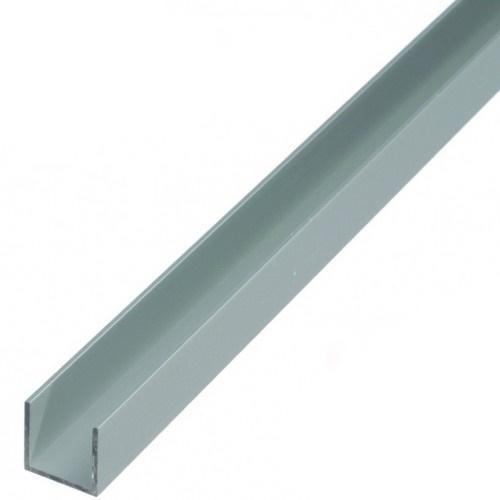 Монтажный алюминиевый профиль для LED NEON - 17x9 мм 2 м.