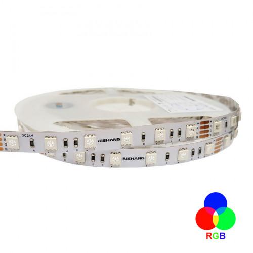 Светодиодная лента 5050-60-IP33-RGB-10-24 RN0060AP RISHANG