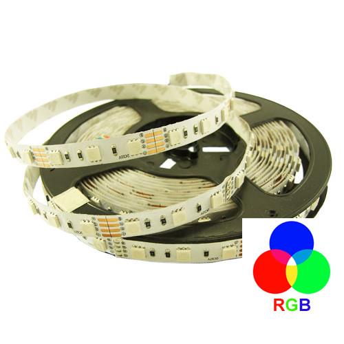 Светодиодная лента 5050-60-IP33-RGB-10-12 RN0060AQ RISHANG