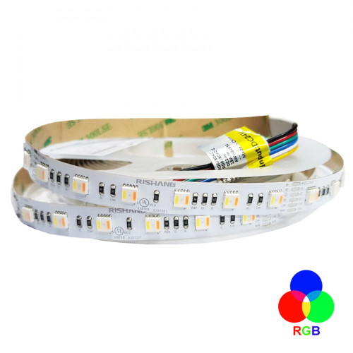 Светодиодная лента 5050-60-IP20-RGB/WW/CWd-12-24 RD0260AC-C RISHANG