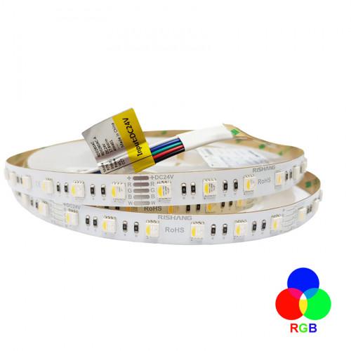 Светодиодная лента 5050-60-IP20-RGB/NW-12-24 RD0260AC-A RISHANG