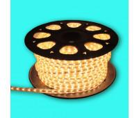 Светодиодная лента 2835 60WW-IP67-220V Белый теплый 3200К, Standart