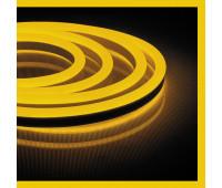 Светодиодная неоновая лента 220V Feron LS720 желтая