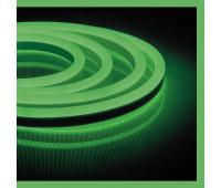 Светодиодная неоновая лента 220V Feron LS720 зеленая