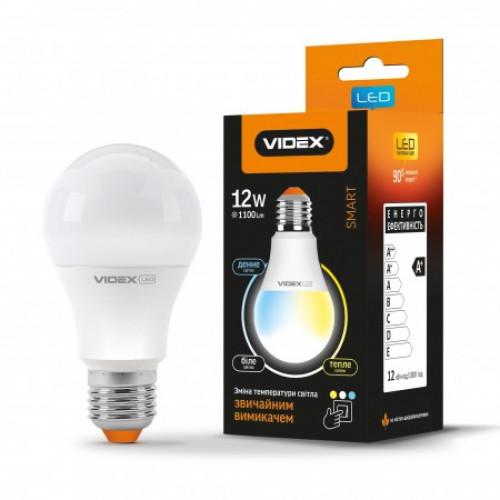 LED лампа с регулировкой цветности A60eC3 12W E27 220V