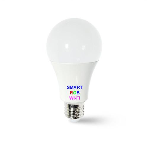 Smart лампа Led WiFi RGBW A70 10W 220V E27 (Brio-W-Bulb-A70-10w)